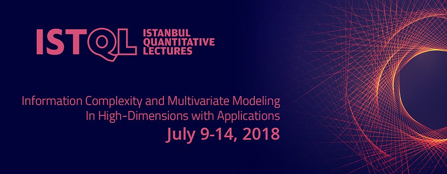 7th ISTQL: Information Complexity and Multivariate Modeling In High-Dimensions with Applications